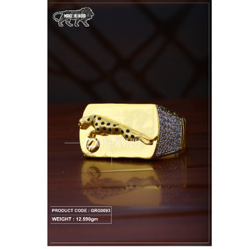 22 Carat 916 Gold Gents heavy ring grg0093 by