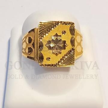 22kt gold ring ggr-h75
