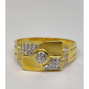 916 Gents Fancy Gold Ring Gr-28590