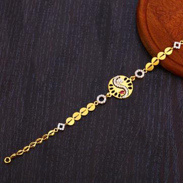 22CT Gold Fancy  Ladies Bracelet LB303