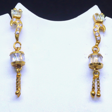 20CT Gold Fancy Earring with Marquis stone for ladies BTG0096
