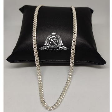 silver latest chain design gents chain RH-CH887