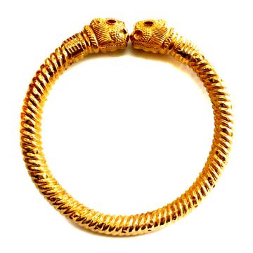 22k Gold Vaghmora copper kada Bangles MGA - GK052