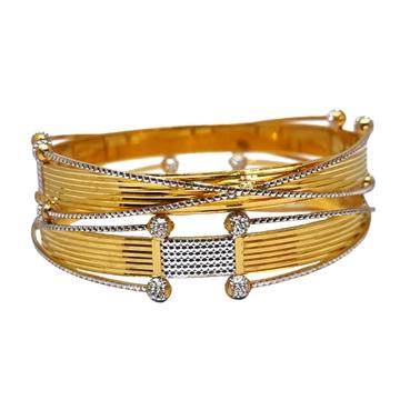 One Gram Gold Forming Modern Bangles MGA - BGE0493