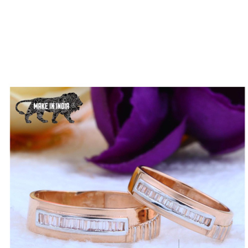 18kt Rose Gold Couple Ring RH-cPR 002