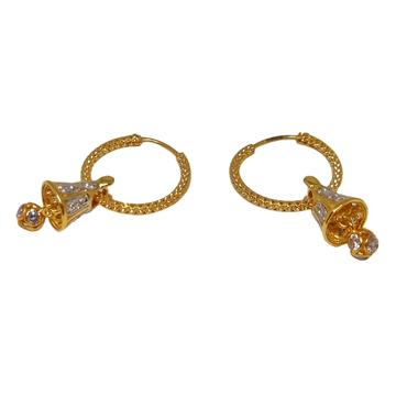 18K Gold Modern Earrings MGA - BLG0622