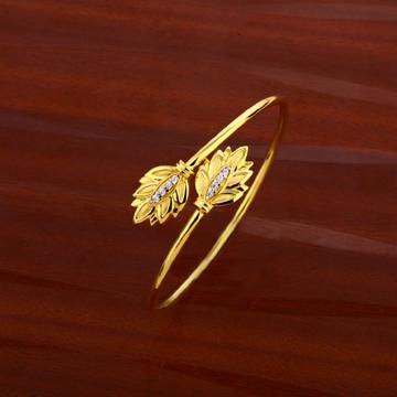 18KT Gold Ladies Kada Bracelet LKB183