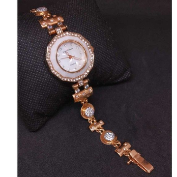 18 KT Rose Gold Branded Ladies  Watch by