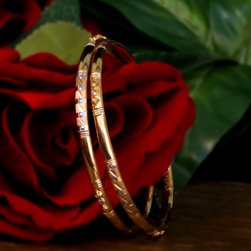 916 Gold Fancy Copper Kadli Bangle