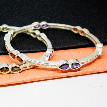 Sterling silver bangles by