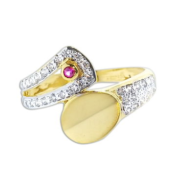 916 gold Designer Ring SO-R005