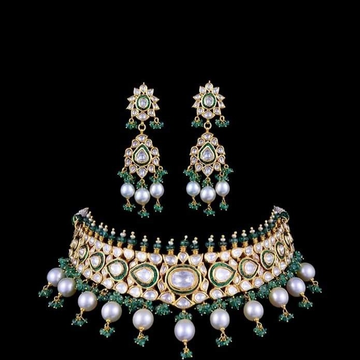 22KT Gold Heritage Necklace Set for Women