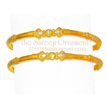 916 Gold Attractive Modhiya Copper Kadali - 0031