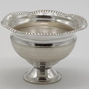 Silver bowl jys0036