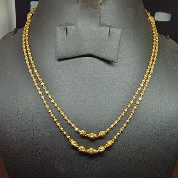 916 Gold Designer Double Line Dokiya ML-N001