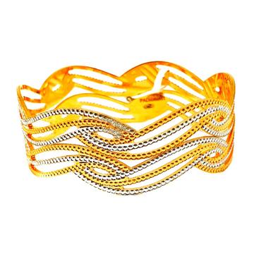 One gram gold forming designer bangles mga - bge0342