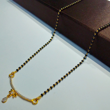 916 gold fancy mangalsutra