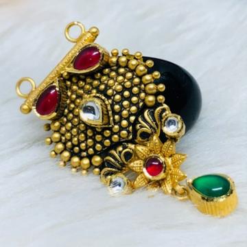 916 Gold Jadtar Mangalsutra Pendants msp-0016