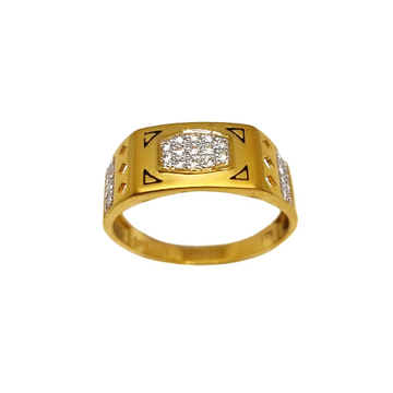22K Gold Fancy Gents Ring MGA - GRG0224