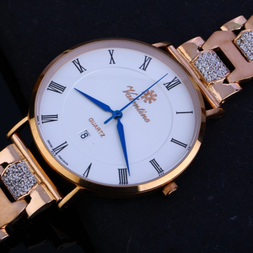 Gents watch rosegold 18ct by