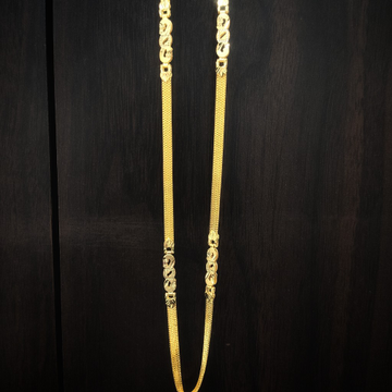 fancy heavy look  916 gold chain by Suvidhi Ornaments