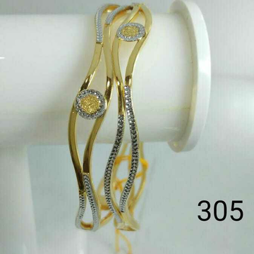22kt Gold Ladies Fancy Copper Kadli (Gabha Kadli)