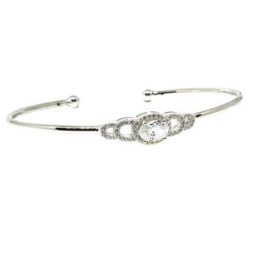925 Sterling Silver Fancy Bracelet MGA - BRS0383