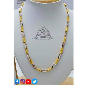 22 carat gold design gents chain RH-CH494