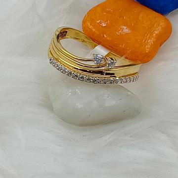 916 GOLD CZ LADIES RING by Ranka Jewellers