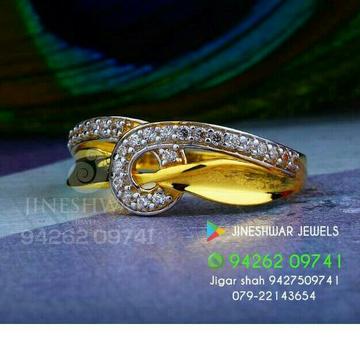 22kt Fancy Cz Ladies Ring LRG -0201