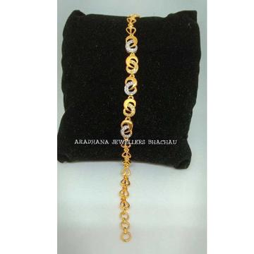 22KT Gold Ladies Antique Bracelet With Diamond