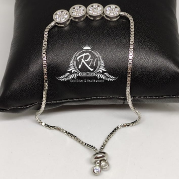92.5 silver classical ladies bracelet Rh-Ly964