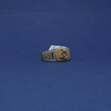 22KT Hallmarked Ganesha Men's Ring by Simandhar Jewellers