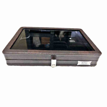 Jewellery Stock box brown liz T/P by