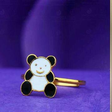 22kt Panda Kids Ring