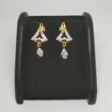22 K Gold Fancy Earring. NJ-E0917