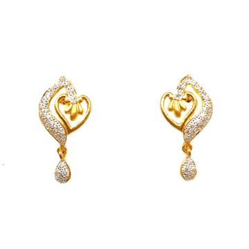 22K Gold Designer Earrings MGA - BTG0406