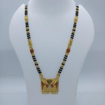 916 GOLD KOLKATI FANCY MANGALSUTRA TJ-030