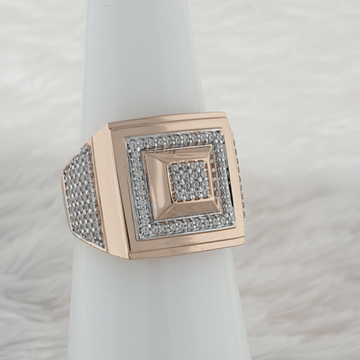 Big square ring by