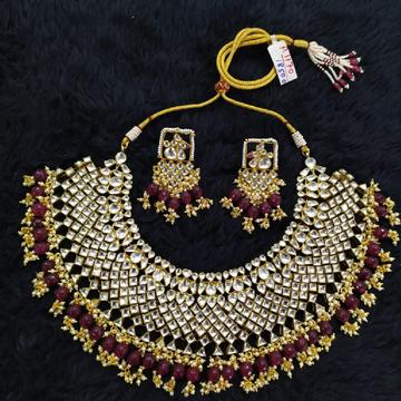 Beautiful bridal necklace set#722