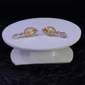 22KT/916 Yellow Gold Adelia Earrings For Women