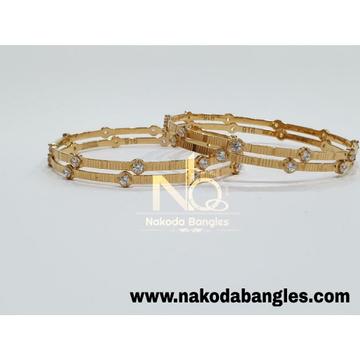 916 Gold CNC Bangles NB - 985