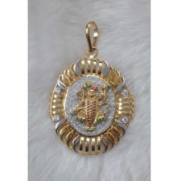 Gent's gold pendant