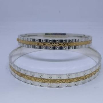 silver gold (ganga jamna) patli by
