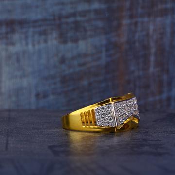 916 Gold Cz Ring MR524