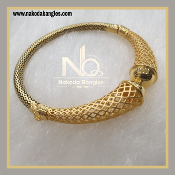 916 Gold Pipe Bangles NB - 882