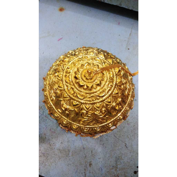 Gold Chattar For Pooja