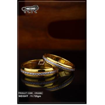 22 Carat 916 Gold Couple ring crg0002