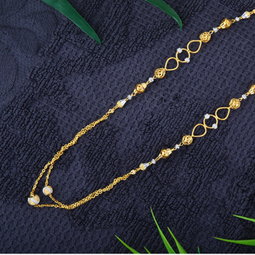916 Gold Antique Mala Chain JJ - M002