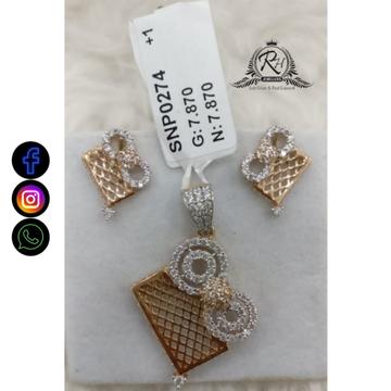 22 carat gold traditional earrings set RH-ER681